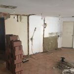 Lincoln Kitchen Renovation During