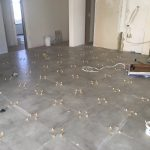 Lincoln Kitchen Flooring Renovation During