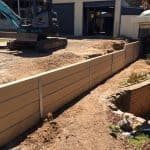 Retaining Earthworks Landscaping Renovation